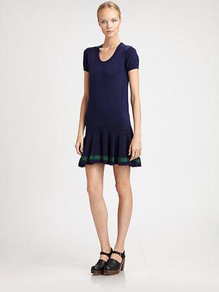 Sacai Luck Drop-Waist Dress