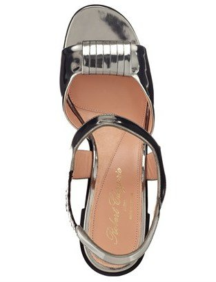Robert Clergerie Grey Crissac Platform Sandals