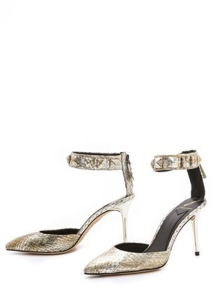 Brian Atwood Mercada Ankle Strap Pumps