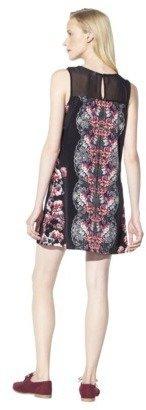 Xhilaration Juniors Peter Pan Collar Dress - Floral