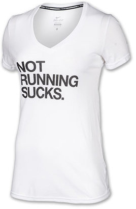 Nike Women's Not Running Sucks T-Shirt