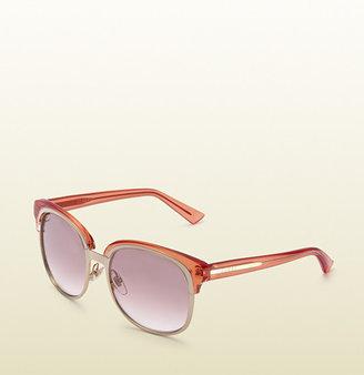 Gucci Oversize Double Frame Sunglasses