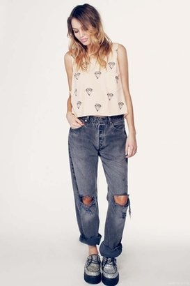Wildfox Couture Little Diamond Charlie Tank in Pearl