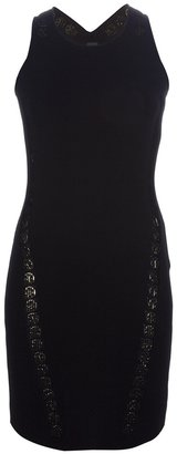 Paco Rabanne body con dress