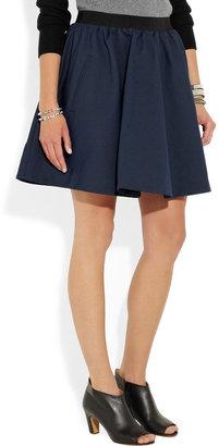 Acne Romantic gathered twill skirt