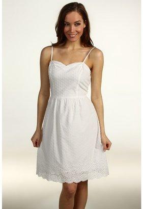 Kensie Eyelet Camisole Dress (Sugar) - Apparel