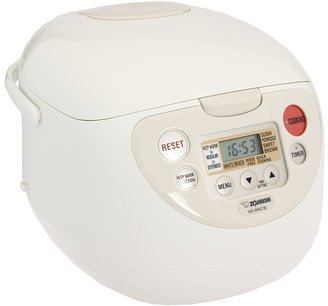 Zojirushi NS-WAC18WB 10 Cup Micom Rice Cooker Warmer (White) - Home