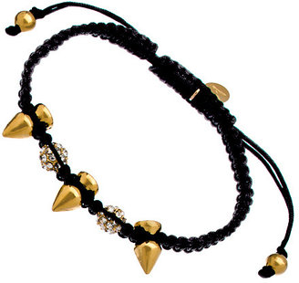 Swarovski Devora Libin Jewels Gold Spike Crystal Black Stella Bracelet