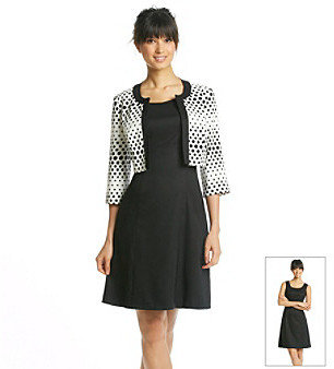 Amy Byer Bolero Jacket And Solid Dress
