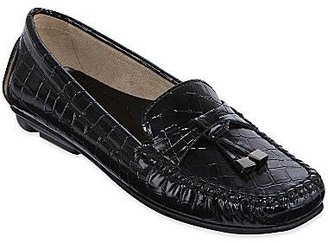 JCPenney St. John's Bay® Melissa Croco-Embossed Loafers