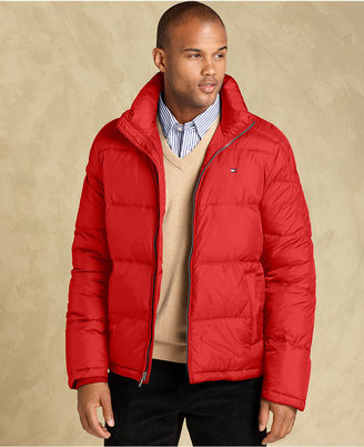 Tommy Hilfiger Big and Tall Jacket, Down-Filled Puffer Jacket