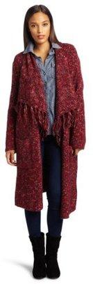 Lucky Brand Women's Rock N Roll Long Wrap Sweater