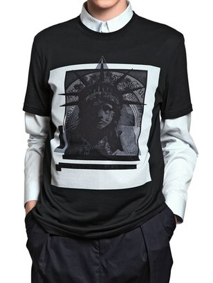 Givenchy Maison Jersey Slim Fit T-Shirt