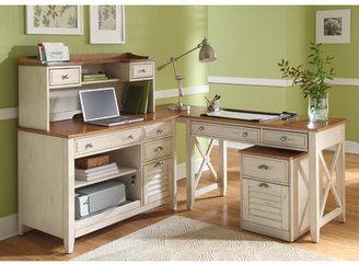 Liberty Furniture 5-Piece Standard Desk Office Suite
