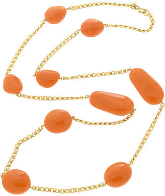 Kenneth Jay Lane Long beaded necklace