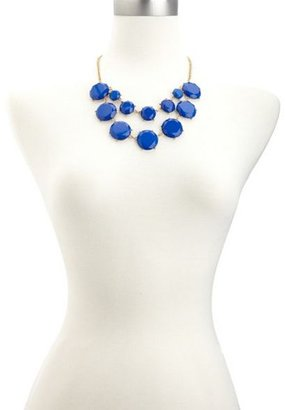 Charlotte Russe Layered Stone Statement Necklace