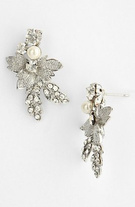 Nina 'Addie' Faux Pearl Drop Earrings