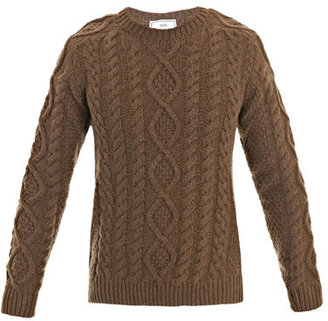 Ami Cable knit sweater