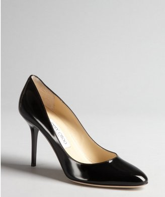 Jimmy Choo black patent leather 'Gilbert' pumps