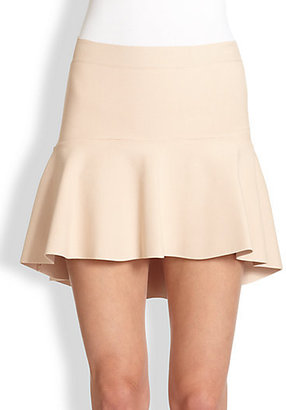 BCBGMAXAZRIA Flippy Jersey Mini Skirt