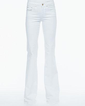 Rachel Zoe Presley Sequin-Sleeve Sweater, Winter White