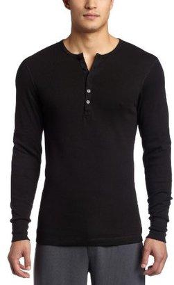 2xist Men's Essentials Long-Sleeve Henley Top