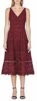 Adelyn Rae Beatrice Woven Fit--Flare Dress