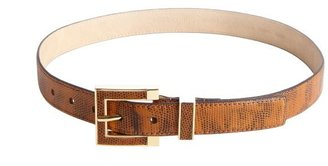 Vince Camuto brown embossed leather belt