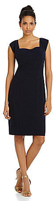 Vera Wang Sweetheart Sheath Dress