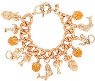 J.Crew Golden charm bracelet