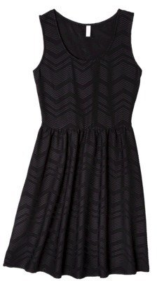 Xhilaration Junior's Textured Fit & Flare Dress - Assorted Colors