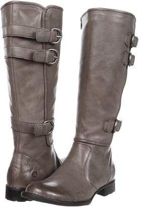 Børn Attila (Dark Grey Burnished Leather) - Footwear