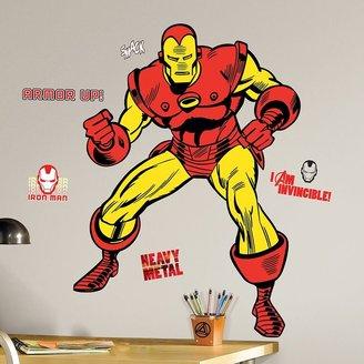 Roommates Marvel Classic Iron Man Peel & Stick Wall Stickers