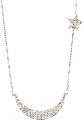 Susan Hanover Moon and Star Necklace