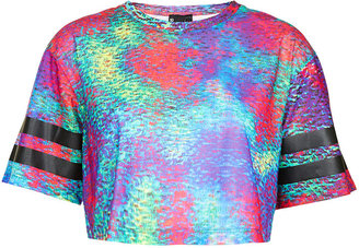 Topshop Holograph Crop By Escapology