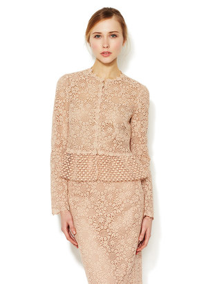 Valentino Embroidered Lace Jacket