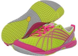 Merrell Barefoot Road Glove Dash 2 (Yellow/Pink) - Footwear