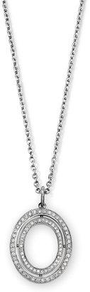 Ivanka Trump Small Oval Diamond Pendant Necklace