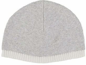 Barneys New York Kids' Sweater-Knit Hat - Cream