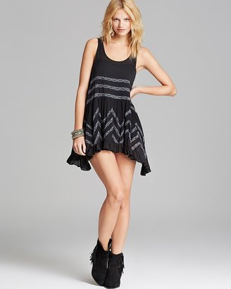 Free People Slip Dress - Voile Trapeze $88 thestylecure.com