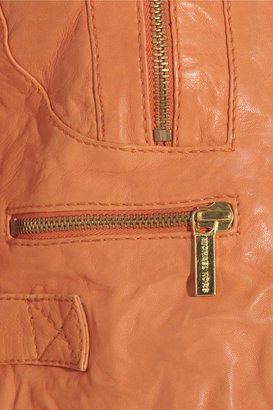 MICHAEL Michael Kors Crinkled leather jacket