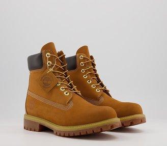 Timberland 6 Inch Buck Boots M Wheat Nubuck