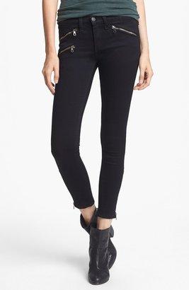 Rag and Bone Zip Detail Skinny Jeans