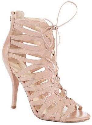 Nine West Kenie Lace-Up Leather Sandals