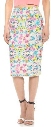 Amanda Uprichard Column Skirt