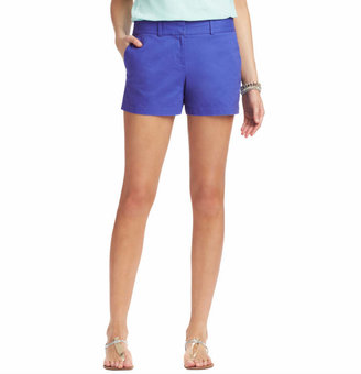 "LOFT Cotton Shorts with 4"" Inseam"