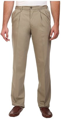 Dockers Big Tall Signature Khaki D3 Classic Fit Pleated Navy Stretch) Men's Clothing