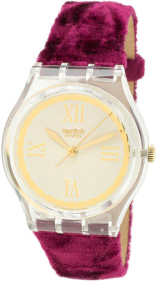 American Apparel Vintage Swatch Saint Velours Watch