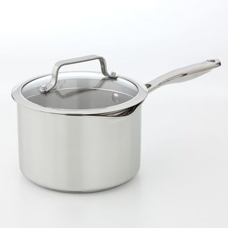 Bobby Flay™ 3-qt. Stainless Steel Sauce Pan With Straining Lid