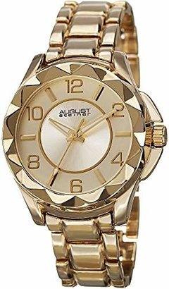 August Steiner Women's AS8159YG Yellow Quartz Watch with Yellow Dial and Yellow Bracelet